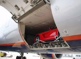 Особенности перевозки автомобилей самолетом