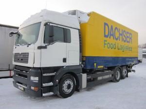 Как выбрать грузовой полуприцеп для тягачей марки Renault, Volvo и Scania