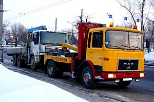 Особенности профессиональной эвакуации грузовых авто