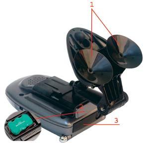Как закрепить радар детектор