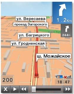 Маршрутная карта ПРОГОРОД 3D