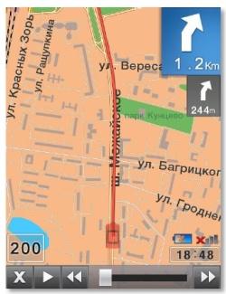 Маршрутная карта ПРОГОРОД 2D