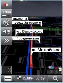 Маршрутная карта ПРОГОРОД ночной режим